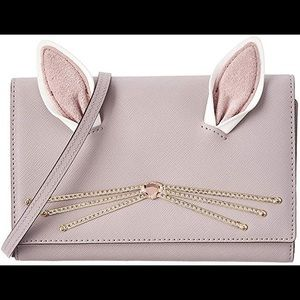 NWT Kate Spade Rabbit Winni Wallet Crossbody Purse